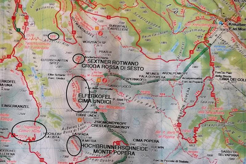 10  Strada degli Alpini - Berghotel a Sesto, Alto Adige