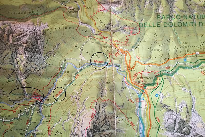 29. Vie ferrata delle cascate della Val di Fanes - Berghotel a Sesto ... e6a06ccb4ac