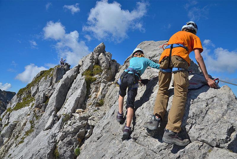 Klettersteig Croda Dei Toni : Klettersteige in sexten und den dolomiten