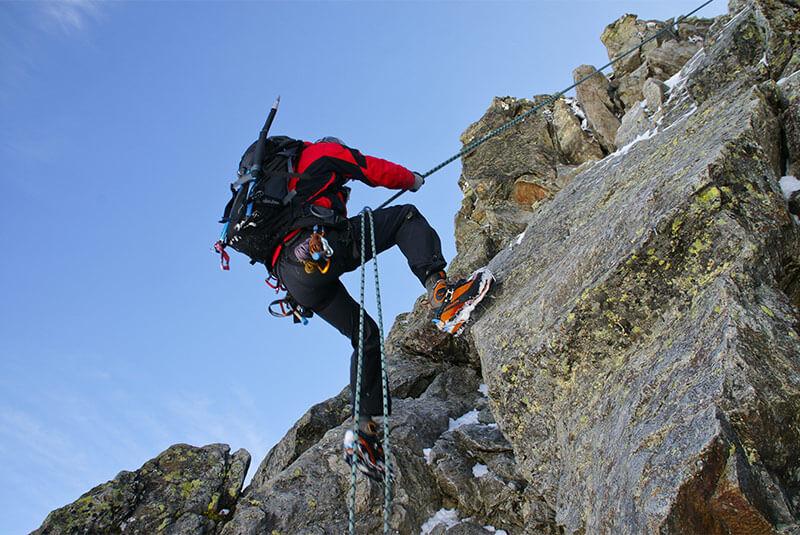 Klettersteig Rucksack : Klettersteige in sexten und den dolomiten u2013 tourenbeschreibungen