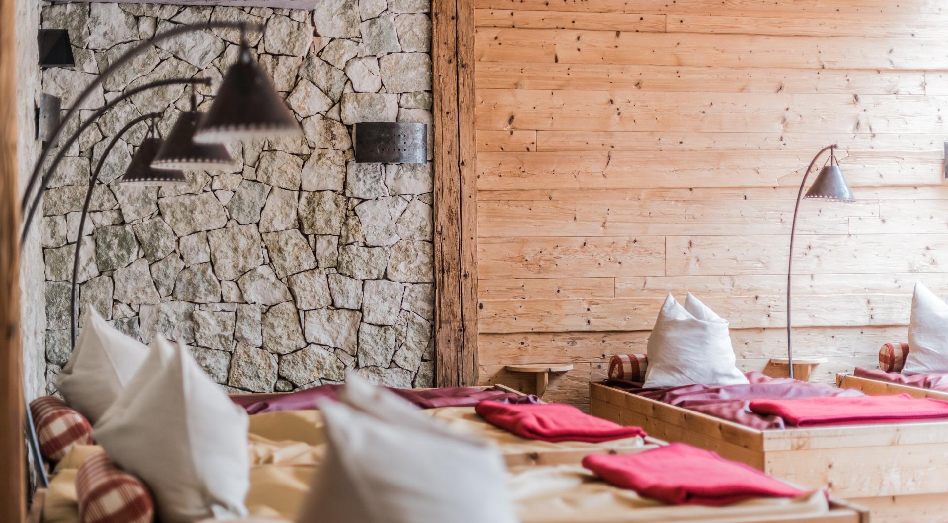 In der sauna steifen Erektion in